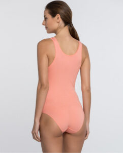 Body mujer color salmon
